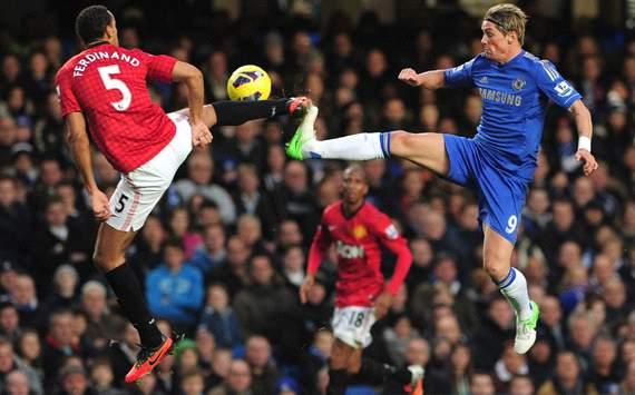 EPL; Fernando Torres; Rio Ferdinand; Chelsea Vs Manchester United 