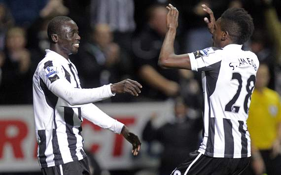 EPL; Papiss Cisse; Sammy Ameobi;  Newcastle United Vs West Bromwich Albion