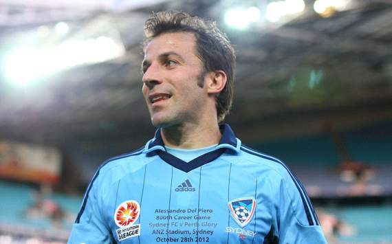 Del Piero: I have no regrets about Juventus