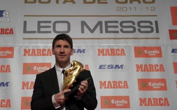Messi - Botín de Oro 2012