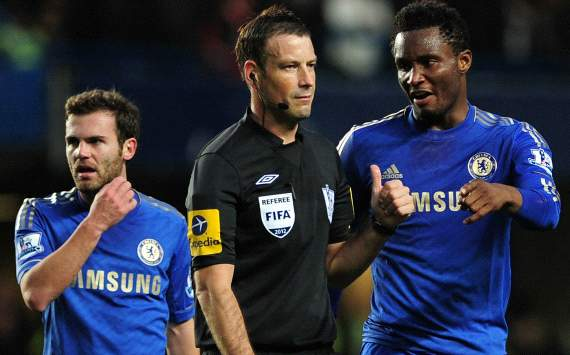 Chelsea criticised over approach to Mark Clattenburg allegations