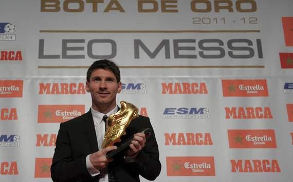 Leo Messi - Golden Boot 2012