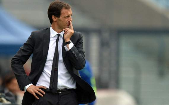 Allegri: Staying at the top would be unrealistic