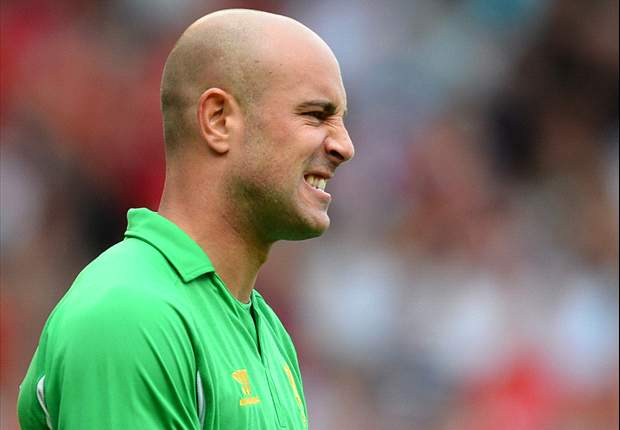 Rodgers insists Liverpool goalkeeper Reina is not for sale