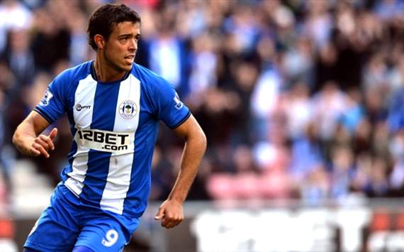 Di Santo es una de las figuras de Wigan
