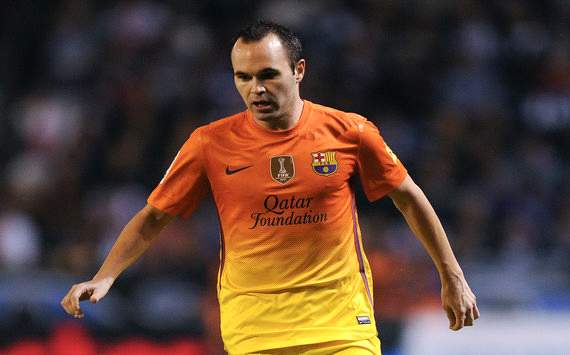 Andrs Iniesta se recupera de sus molestias y viajar a Valladolid
