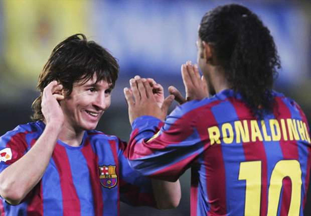 Messi better than Ronaldo but Neymar will best them both, says Ronaldinho