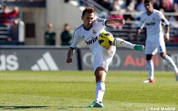 Denis Cheryshev, jugador ruso del Real Madrid Castilla