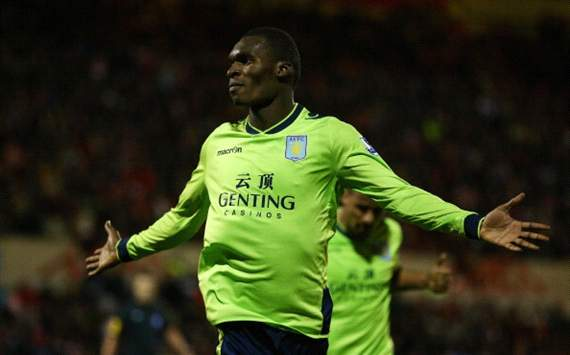 Aston Villa deny reports linking Benteke with Arsenal