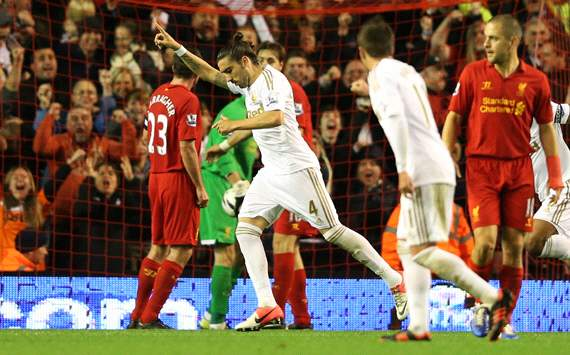 Capital One Cup, Liverpool v Swansea City, Chico Flores