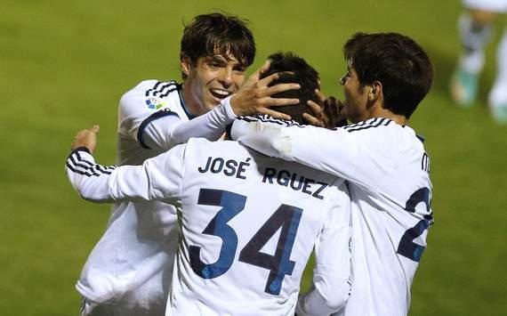 Kaka and Jose Rodriguez Real Madrid