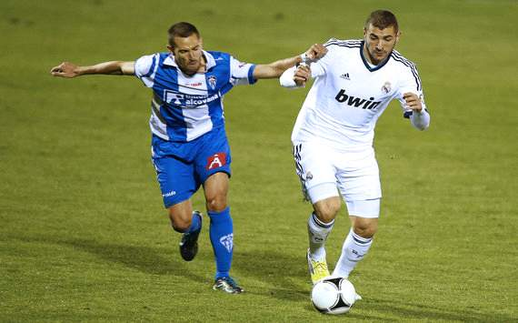 Karim Benzema Real Madrid Alcoyano