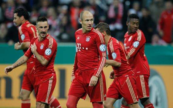 Winning Bundesliga should not be Bayern's number one priority - Robben