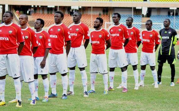 Kenya drops to position 130 from 128 in latest World Fifa rankings