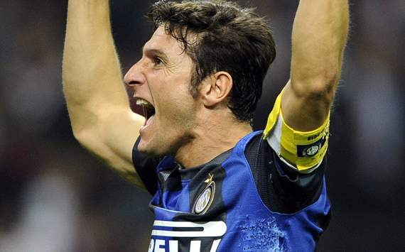 Javier Zanetti could go on playing until he is 50 - Inter legend shows no signs of slowing down