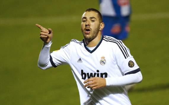 Karim Benzema - Alcoyano v Real Madrid - Copa del Rey