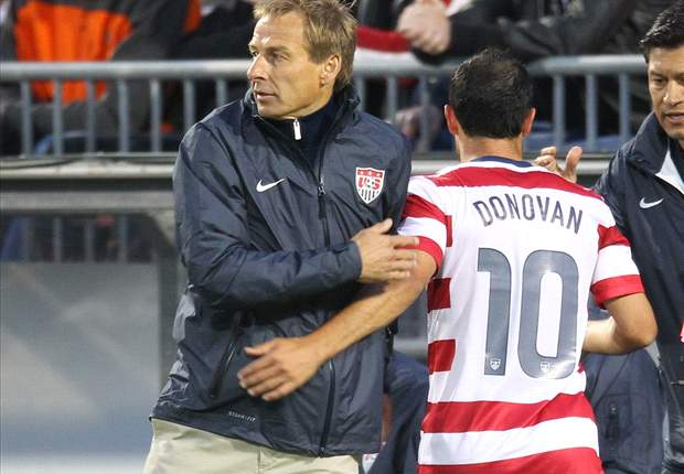 Klinsmann: Any decisions on Donovan's future are up to him