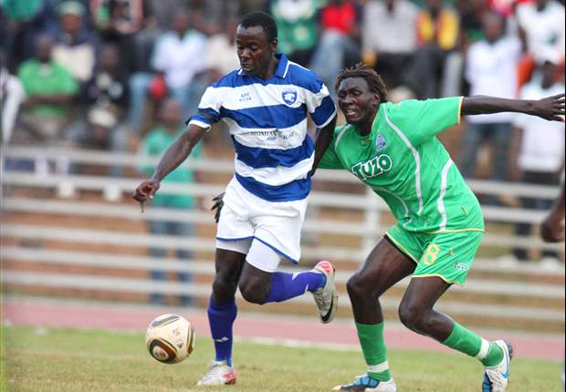 Suspended AFC Leopards' striker Mike Barasa to miss league match against Sony Sugar on Friday