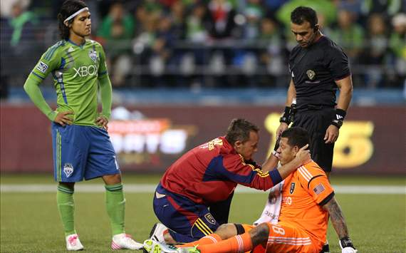 Nick Rimando, Real Salt Lake; Fredy Montero, Seattle Sounders FC; MLS