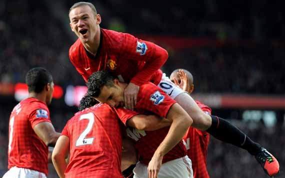 EPL, Wayne Rooney, Robin Van Persie, Manchester United Vs Aresnal