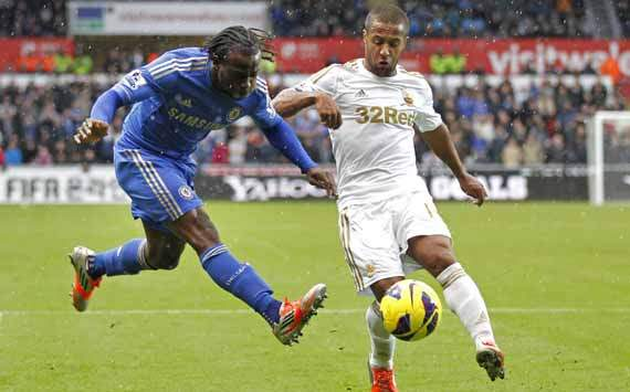 EPL; Victor Moses; Wayne Routledge; Swansea City Vs Chelsea
