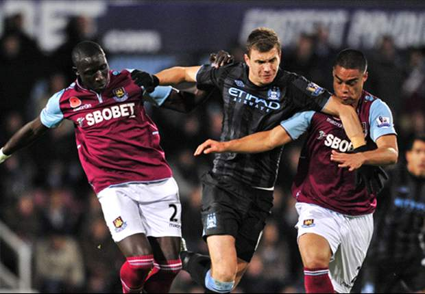 Dzeko's frustration over a lack of Manchester City playing time continues to grow