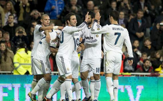Real Madrid celebrates
