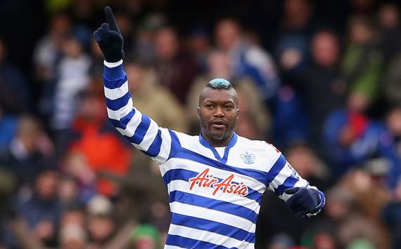 EPL - Queens Park Rangers v Reading, Djibril Cisse