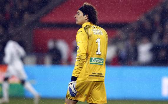 Memo Ochoa y Ajaccio, nicos en dejar en cero dos veces al PSG esta temporada
