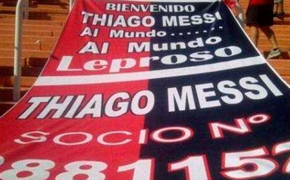 Thiago Messi made Newell's Old Boys member