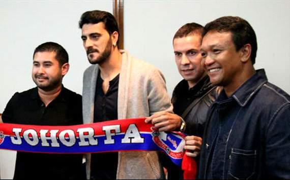 Dani Guiza signing for Johor, Malaysia