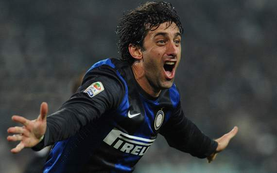 Milito: I'd do anything for Inter to win Serie A