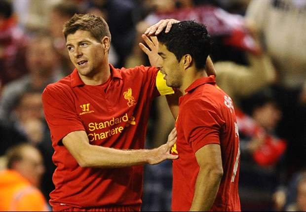 Gerrard ranks Suarez above Torres, Rooney & Fowler as best striker he has played with