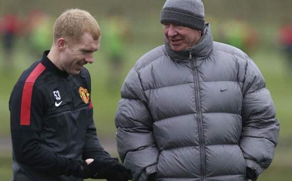 'We can dismiss that' - Ferguson rejects claims Scholes will retire at end of season