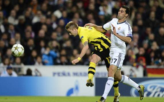 LdC - Real dominé par Dortmund (MT)