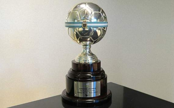 Supercopa Argentina: el trofeo en juego