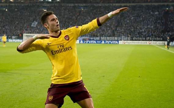 CL - FC Schalke 04 v Arsenal FC, Olivier Giroud
