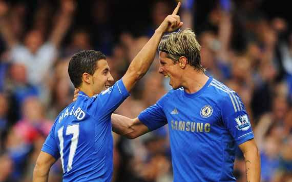 EPL; Eden Hazard; Fernando Torres; Chelsea Vs Newcastle United