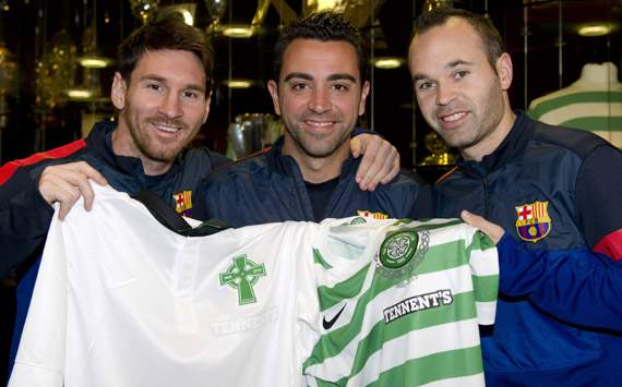 Xavi Hernndez: La gente de Celtic Park es un ejemplo