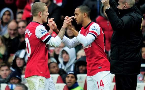EPL; Theo Walcott; Jack Wilshere; Arsenal Vs Queens Park Rangers