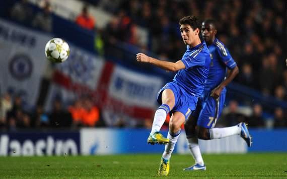 UEFA Champions League, Chelsea FC v FC Shakhtar Donetsk, Oscar