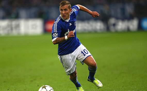 Lewis Holtby, Schalke-Arsenal (UEFA Champions League)
