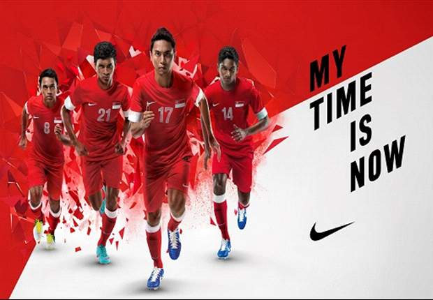 Nike unveils Singapore national team's AFF Suzuki Cup 2012 kits