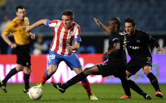 Saul Niguez-Makelele Santos en Academica de Coimbra vs Atlético Madrid