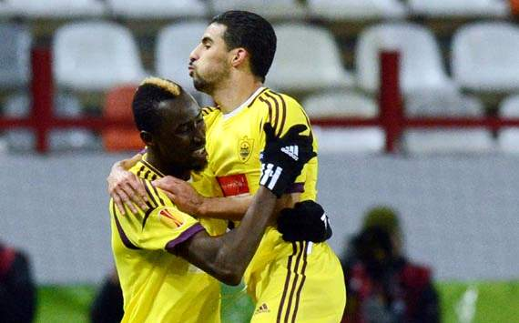 Europa League Treble: Home wins for Anzhi, Hannover and Monchengladbach