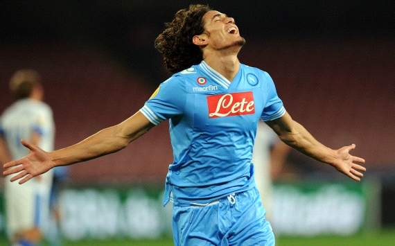 Cavani: Scudetto is within reach of Napoli