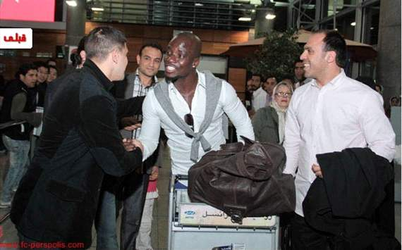 I'm happy to join Persepolis – Stephen Appiah