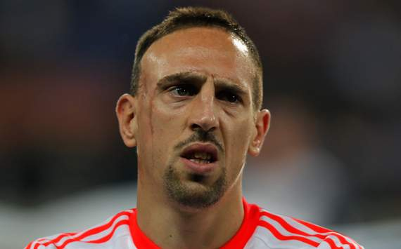 Ribery: &quot;Estou pensando cada vez mais em me aposentar aqui&quot;