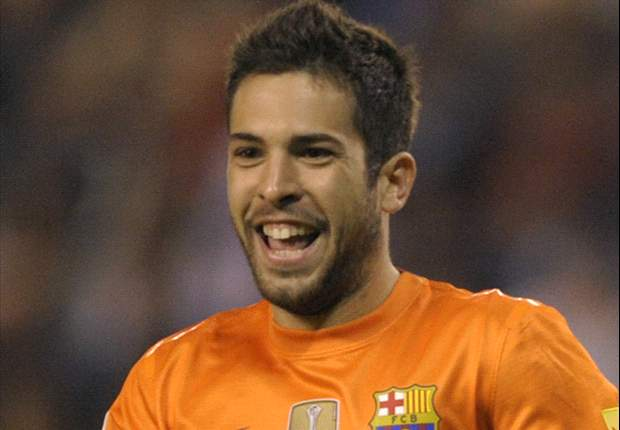 Alba: I'll go nuts if I score at the Bernabeu