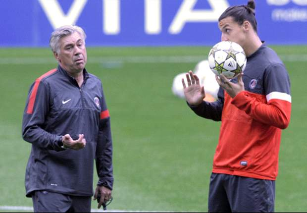 Ibrahimovic is saving Ancelotti's neck at PSG, says Luis Fernandez